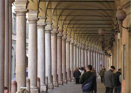 <em>Portici del Collegio, foto por Icco80</em>
