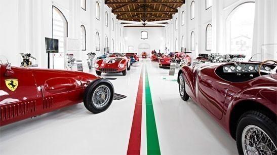 Orgullo italiano en Modena, Museo Ferrari