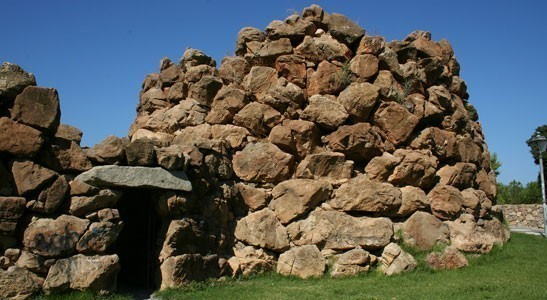 Sardinia: Nuraghe, tower-fortress built with great blocks of stone