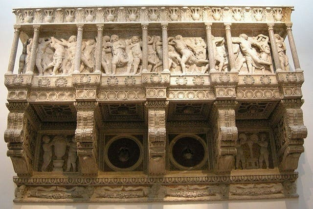 La Cantoría de Santa María del Fiore, Florencia – foto de Sailko CC BY 2.5