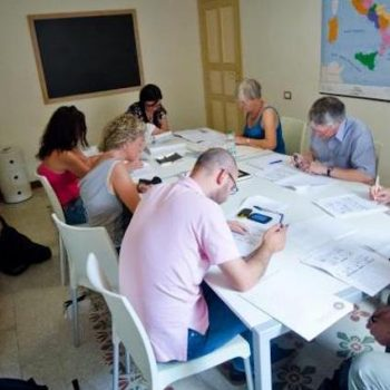 Italian language course in Sardinia