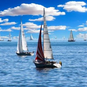 Italian and sailing in Sardinia