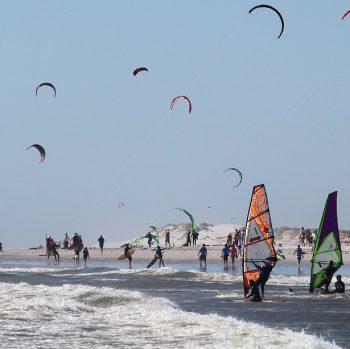 Italian and windsurf in Sardinia
