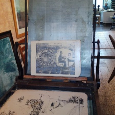 chalcography and xylography courses in florence studiainitalia
