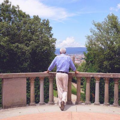 Italiano e trabalho em Florença Jardinagem