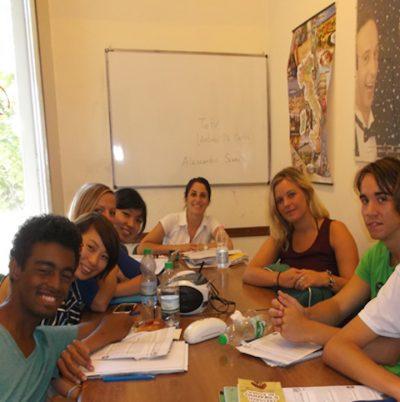 Italian course in Salerno