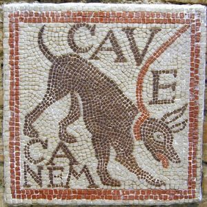 mosaic course in Italy