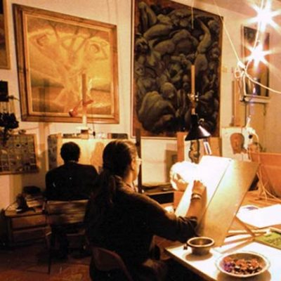 painting course in Florence