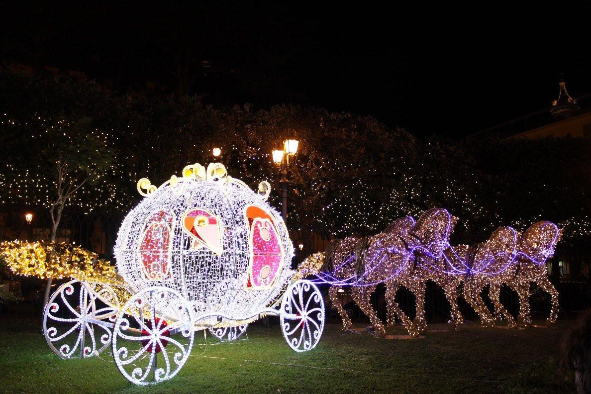 Salerno's Magical Lights: Luci d'Artista