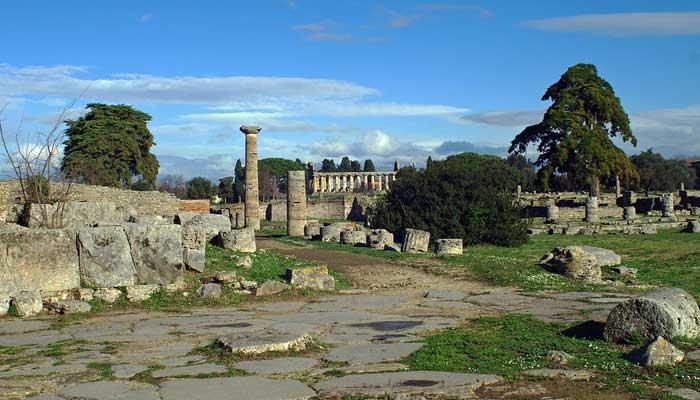 Aprender italiano en el verano - Paestum