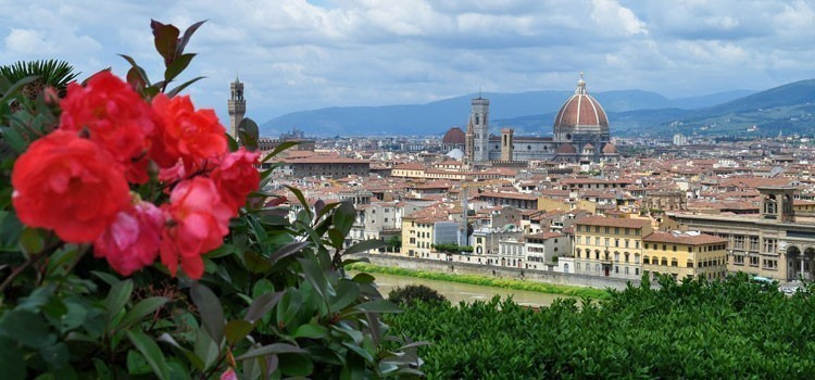 Florence: painting holiday italy