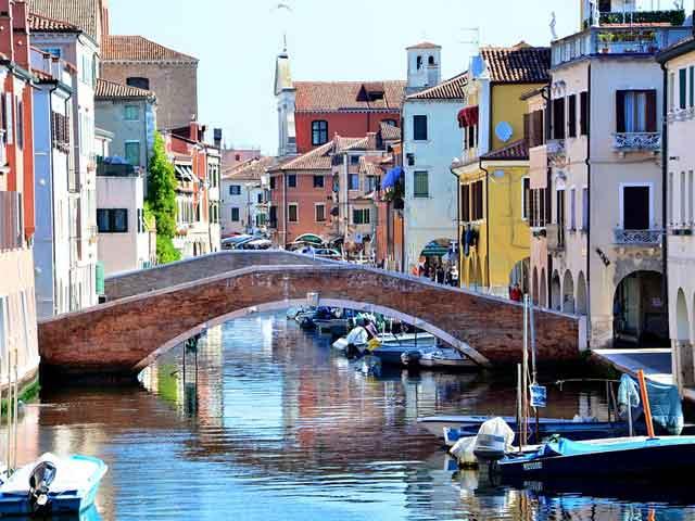 Chioggia, Italian course in Venice