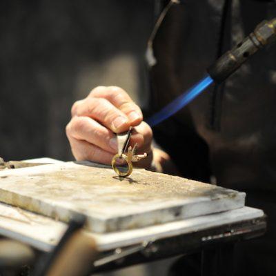 orfebrería artesanal en Florencia