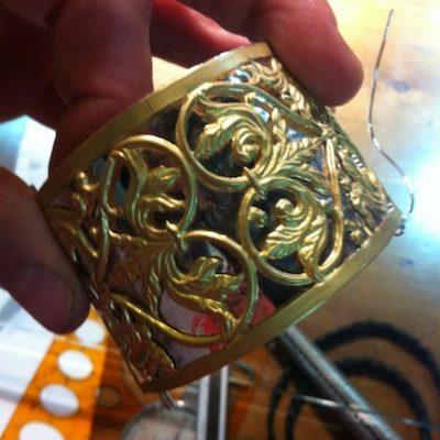 artisan jewellery making in Italy