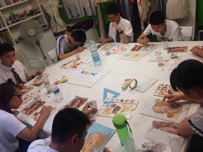 Art Courses for Groups in Italy