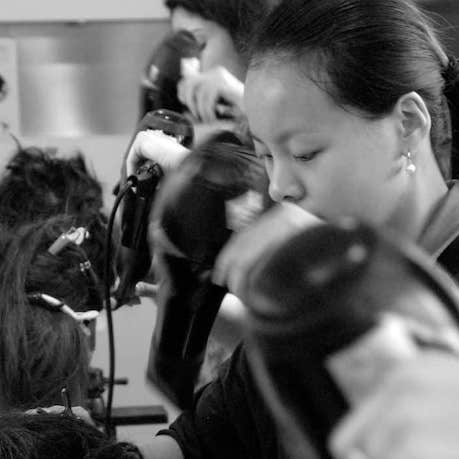 international hairdressing qualification course