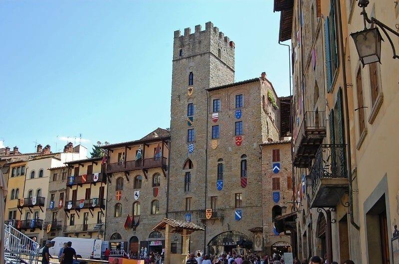 learn italian in arezzo