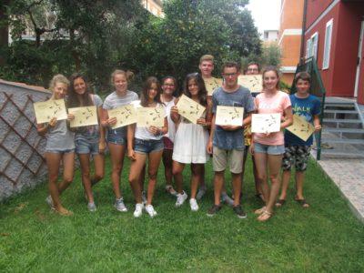 Italian junior students