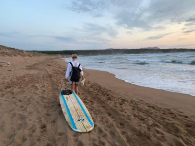 Italian and surf courses