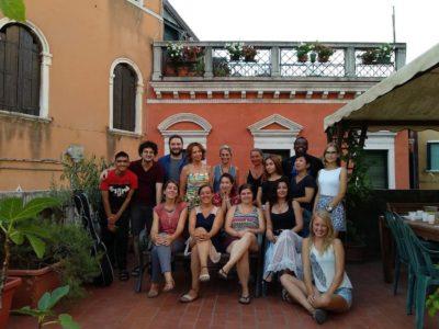Venice school terrace